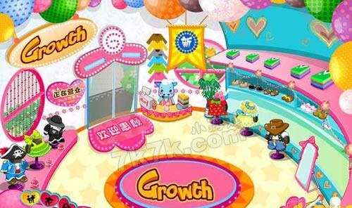 网娃乐园小游戏商店图解