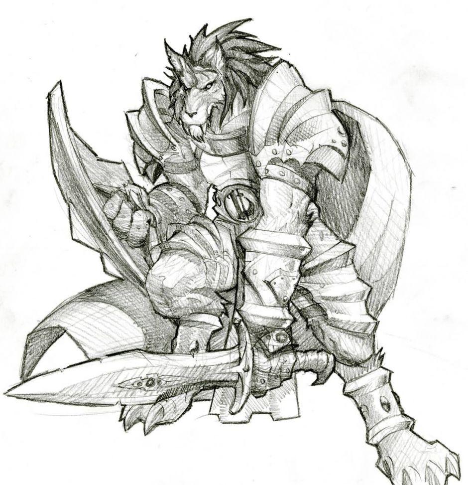 魔兽世界人物原画第2弹