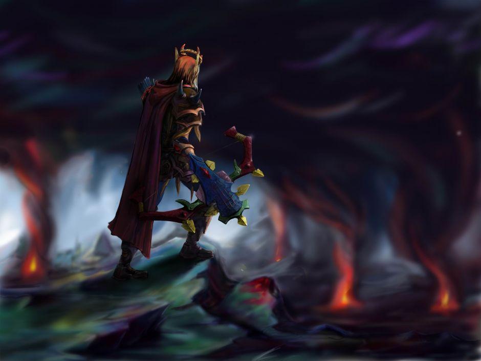 魔兽世界人物原画第4弹