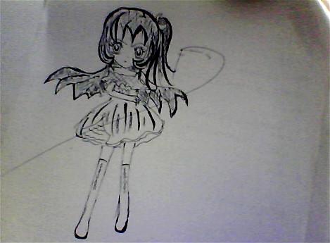手绘可爱小精灵