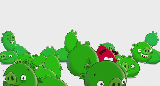 绿绿猪要逆袭 《愤怒的小鸟:小坏猪》正式公布