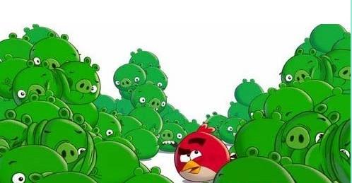 愤怒的小鸟即将推出绿皮猪逆袭