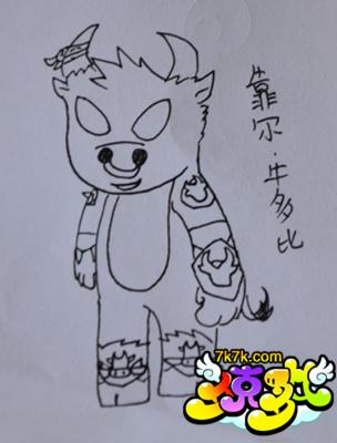 儿童画 简笔画 手绘 线稿 304_400 竖版 竖屏
