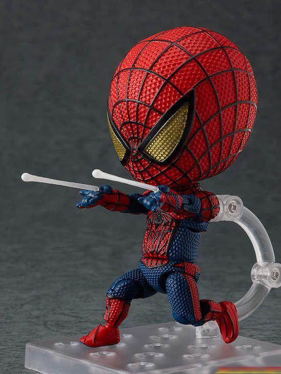 三头身英雄可爱爆了 蜘蛛侠钢铁侠超萌手办赏