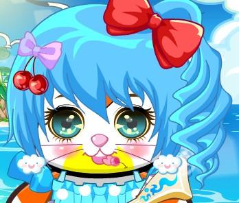的哦~还有一个萌萌兔-盘点奥比岛的萌萌表情