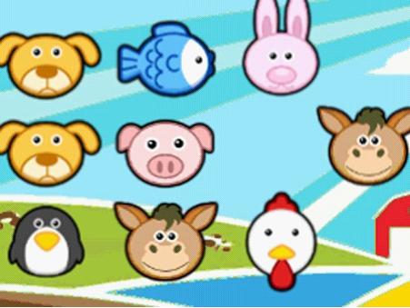 小动物连连看_儿童flash小游戏