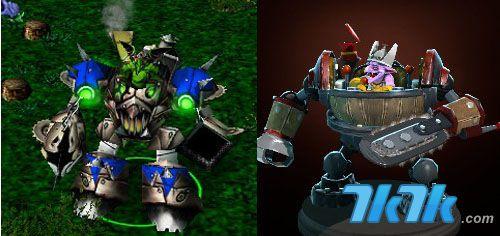 qq游戏塔防三国志_DOTA与DOTA2 英雄对比 看图识英雄_产业动态_7k7k