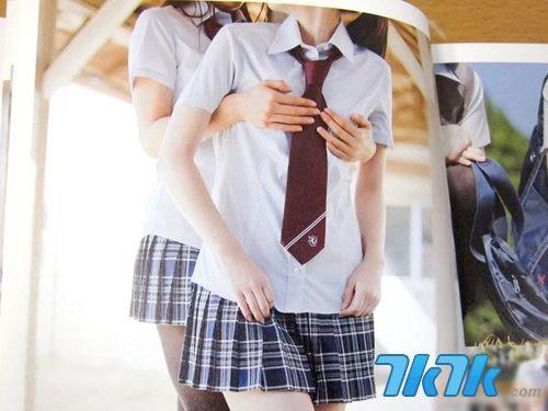 日本贫乳写真开卖 她们确实都是女孩子!