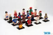 美国一名热爱《街头霸王》与乐高玩具的34岁男性玩家朱利安·方(Julian Fong,音译),日前在自己的Flickr相册上公布了花费1年半时间制作的《超级街霸2:Turbo》登场角色乐高小人偶。