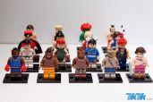 朱利安·方所公布的街霸乐高小人偶照片。