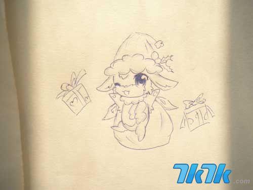 赛尔号2玩家手绘精灵作品1