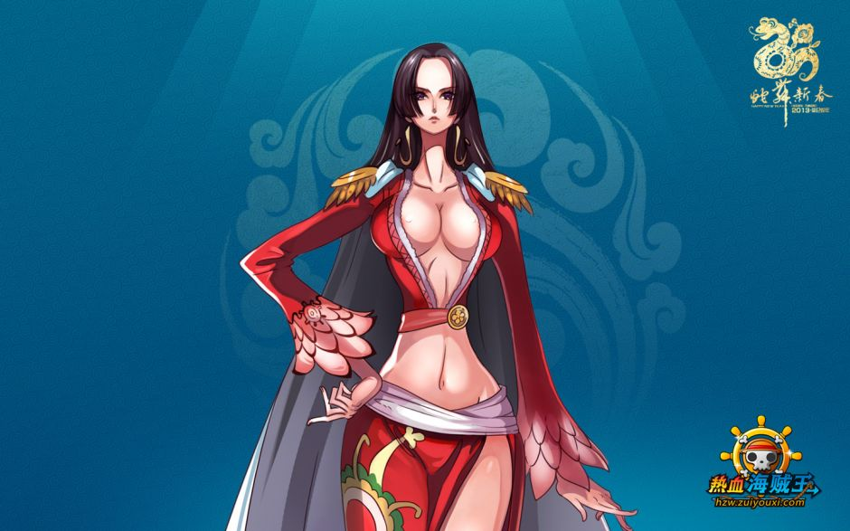 《热血海贼王》女帝高清壁纸