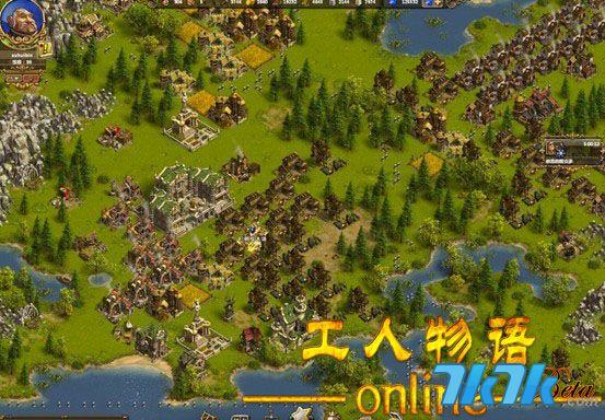 育碧《工人物语ol》明日开测 欧美风策略页游