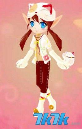 小花仙手绘---可爱猫咪套装