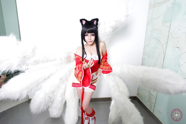 cosplay 九尾/《英雄联盟》九尾阿狸cosplay