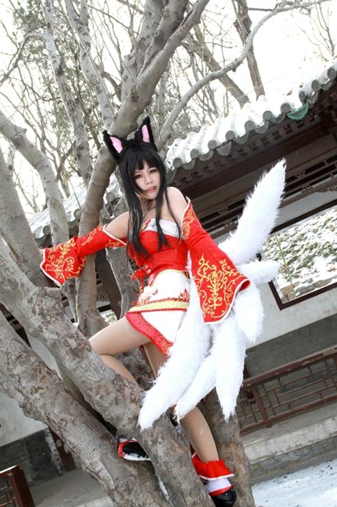 英雄联盟 九尾阿狸cosplay 英雄联盟cos欣赏 众女 高清图片