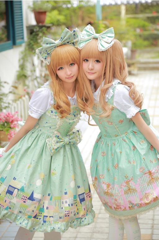 徐娇最新cos_徐娇COS第二弹 双子lolita的花园与密室(3)