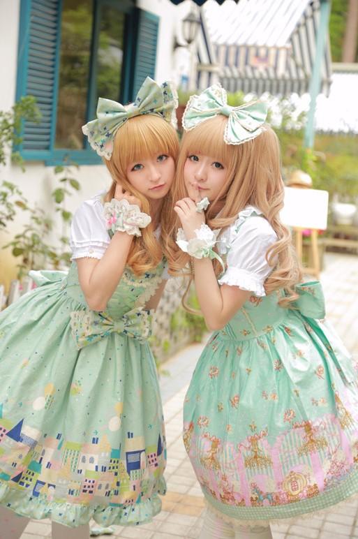 徐娇最新cos_徐娇COS第二弹 双子lolita的花园与密室(4)