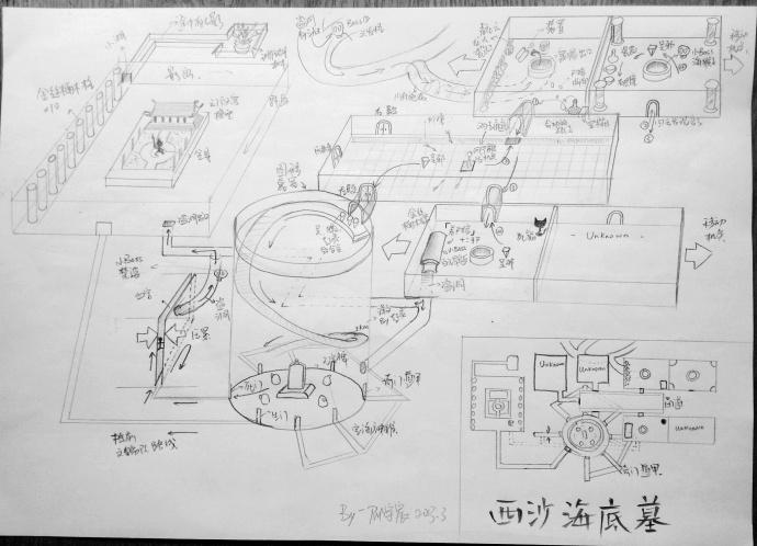 90后小伙手绘盗墓笔记地图 12张地图详解 图集 其他 7k7k 盗墓地图