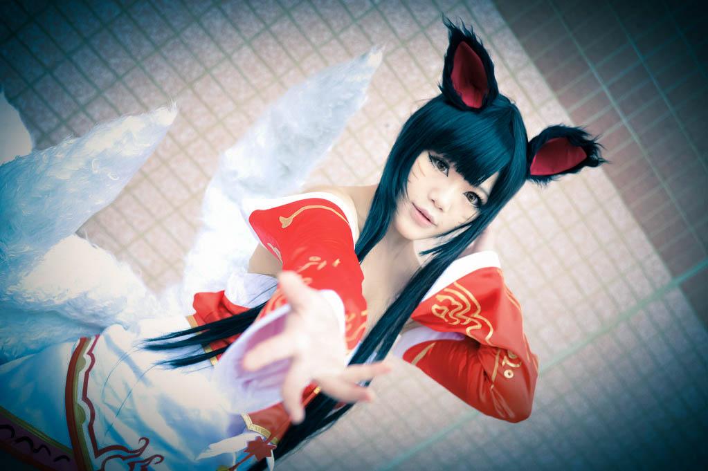 英雄联盟 阿狸cosplay 又一只台湾来的狐妖 2 高清图片