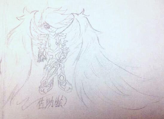 多克多比佐助手绘—暗骑士拟人