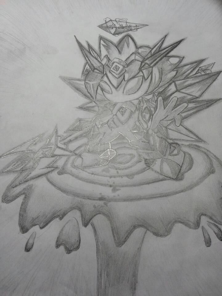 多克多比山楂手绘水晶骑士