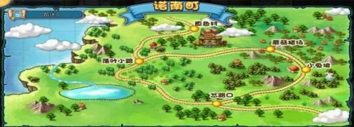 冒险王地图种类