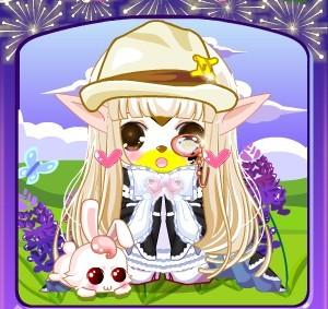 公主蕾丝裙再和童梦女孩妆加在一起,更让人享受到可爱的滋味呢~~图片