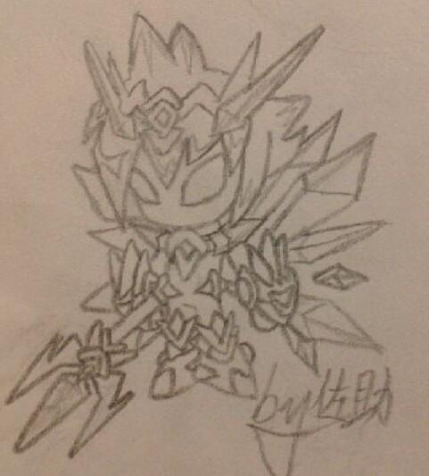 多克多比【佐助手绘】水晶骑士