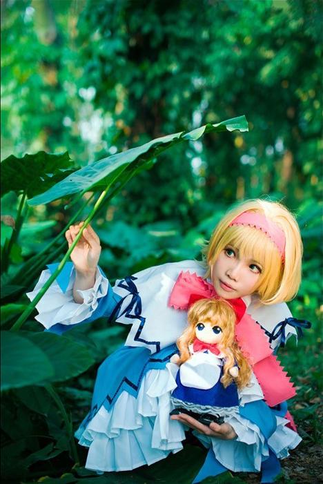 《爱丽丝漫游东方奇境》cosplay赏