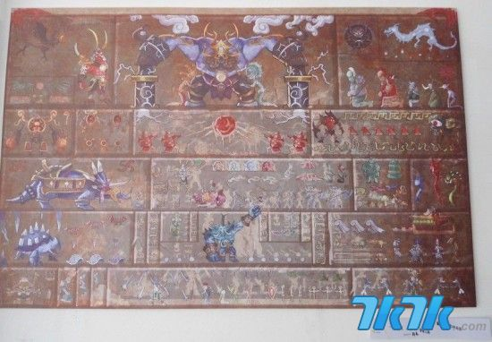 制雷电之王主题壁画图片