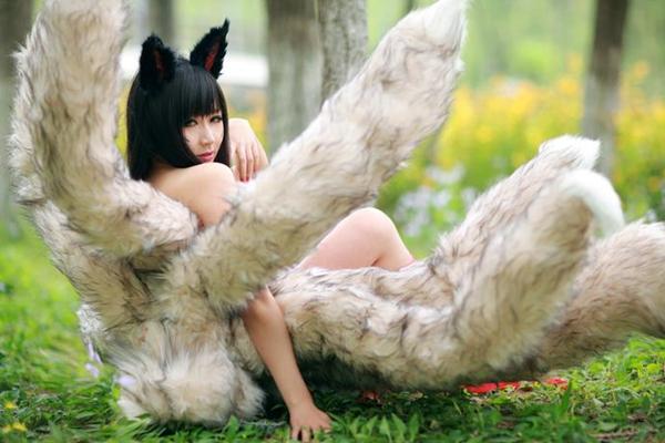 英雄联盟 九尾妖狐阿狸cosplay 5 高清图片