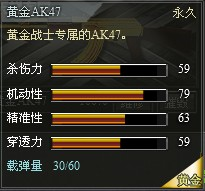 4399创世兵魂黄金AK47属性 黄金AK47升级多少钱