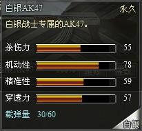 4399创世兵魂白银AK47属性 白银AK47升级多少钱