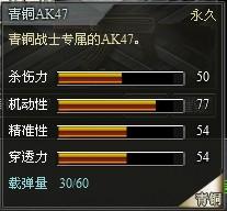 4399创世兵魂青铜AK47属性 青铜AK47升级多少钱