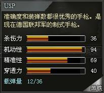 4399创世兵魂USP属性 USP多少钱