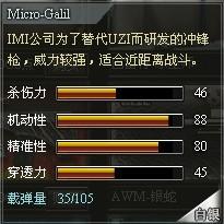 4399创世兵魂Micro-Galil属性 Micro-Galil多少钱