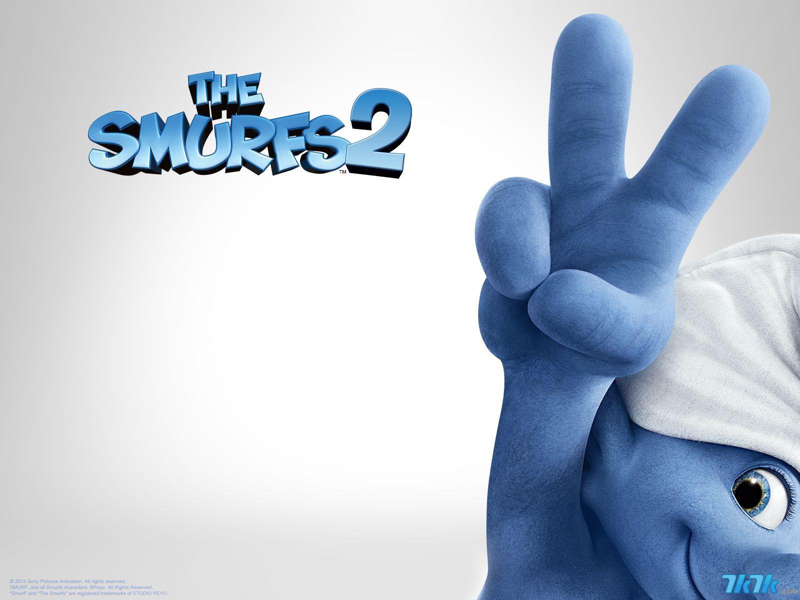 《蓝精灵2》海报,剧照