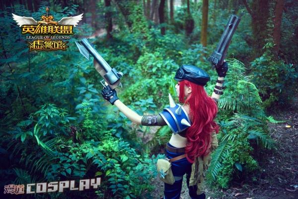赏金猎人   英雄联盟-   一、lol   md_cosplay大赛,貂蝉助