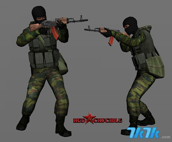 7k7k炽热战地游戏人物模型