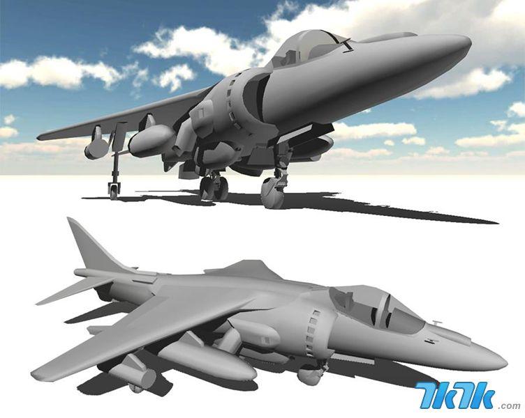 7k7k炽热战地 飞机 战斗机模型截图赏(3)