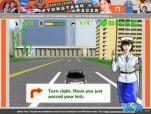 图为之前朝鲜发布的自主研发的《平壤赛车》游戏截图,充满了政治色彩。