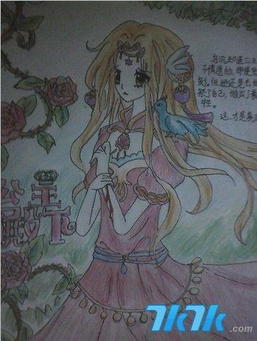 夏恋/小花仙玩家才女夏恋手绘作品展示