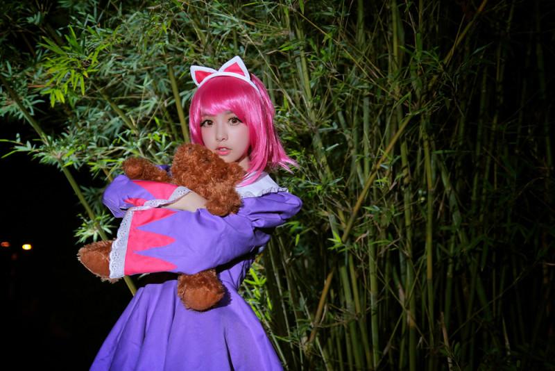超萌萝莉COS 英雄联盟 黑暗之女安妮