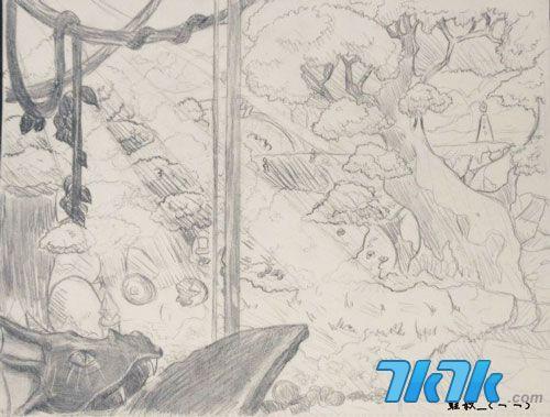 铅笔画情侣漫画素描 铅笔画人物漫画素描 铅笔画女生漫画