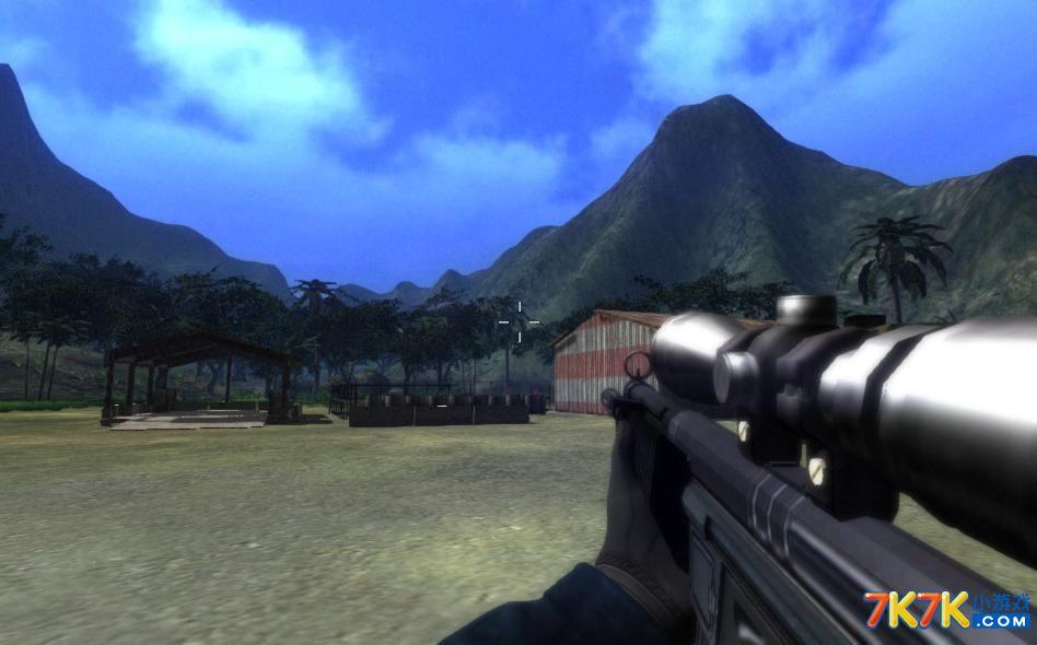 图解 狙击枪/玩家第一视角下MP5狙击枪外形
