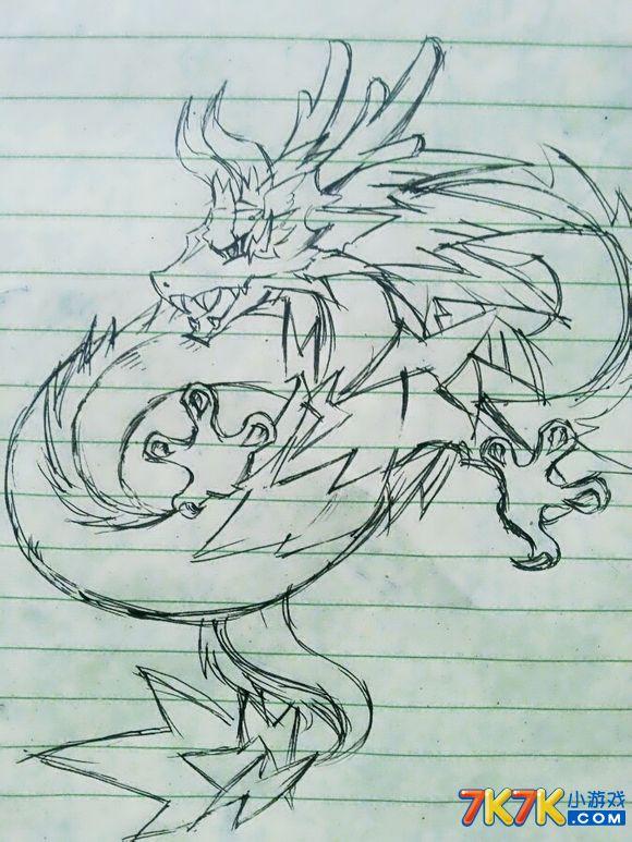 洛克王国手绘迪莫与艾米
