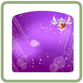 奥比岛超级红宝石背景