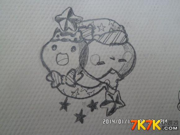 【精彩手绘】洛克王国十二星座宠物手绘