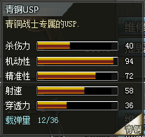 4399创世兵魂青铜USP属性 青铜USP多少钱